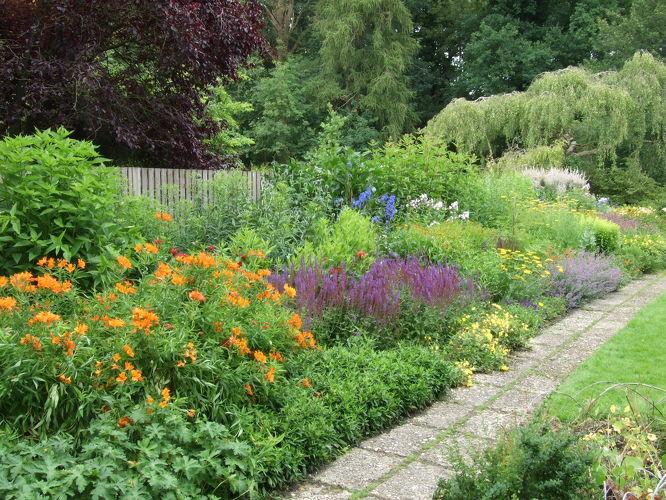 Oude proeftuin 1927 tuinen mien ruys - Foto droge tuin ...