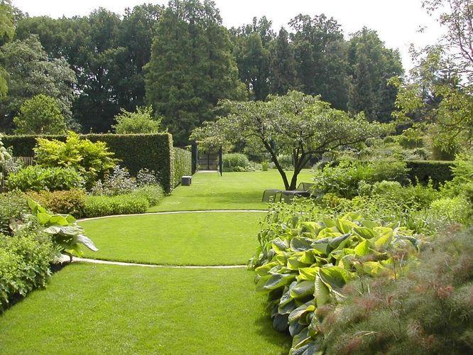 Gele tuin 1982 tuinen mien ruys - Tuin ontwerp foto ...